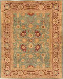 Antique Agra Oriental Rug 41461 Nazmiyal