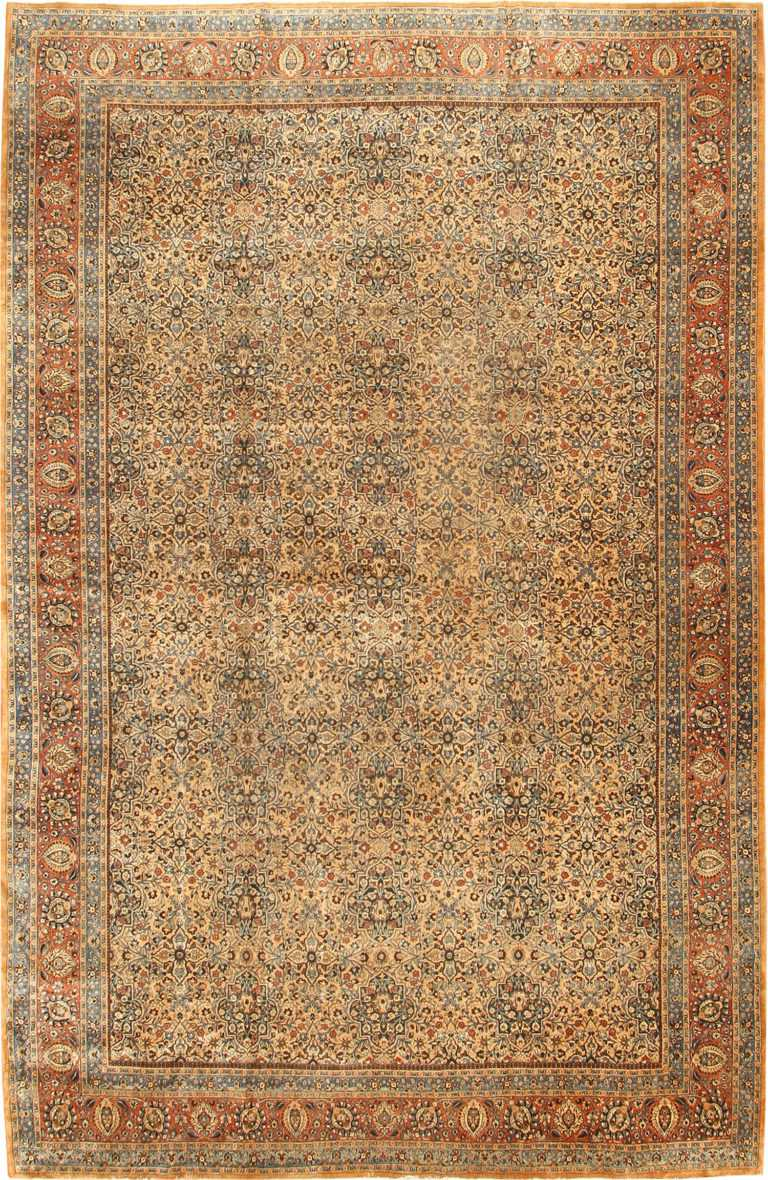 Antique Khorassan Persian Rug 41964 Nazmiyal