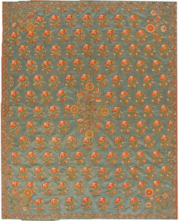 Antique Silk Embroidery - Ottoman