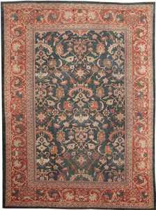 Antique Sultanabad Persian Rug #42986 Nazmiyal