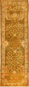 Antique Oushak Turkish Rug 42997 Nazmiyal