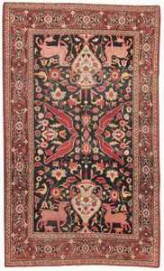 Antique Khorassan Persian Rug 44612 Nazmiyal