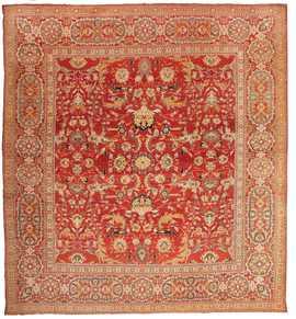 Antique Agra Oriental Rug 44615 Nazmiyal
