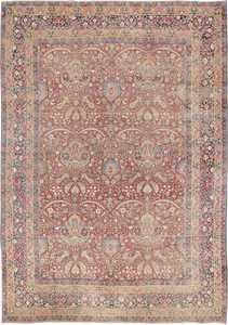 Antique Kerman Persian Rug 44646 Nazmiyal