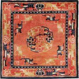 Antique Chinese Oriental Carpet 44843 Nazmiyal