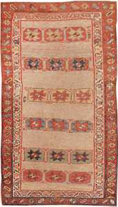 Antique Kurdish Persian Rug 44932 Nazmiyal