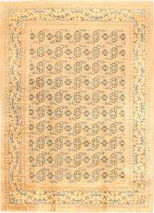 Antique Khotan Oriental Carpet 538 Nazmiyal