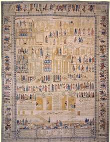 Antique Kerman Persian Rug 3206
