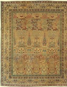 Antique Kerman Persian Rug 3416