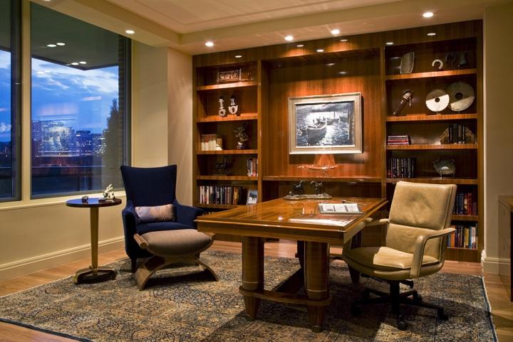 Interior Design With Antique Kerman Rugs