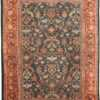 Room Size Antique Sultanabad Green Persian Rug 42986 by Nazmiyal