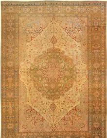 Antique Tabriz Persian Rug 3035