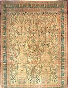 Antique Tabriz Persian Rug 3247
