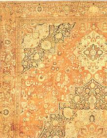 Antique Tabriz Persian Rug 41353
