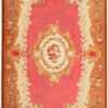 Antique Aubusson French Rug 43636 Nazmiyal