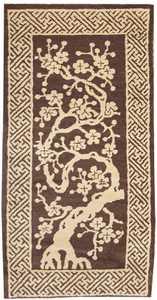 Antique Chinese Oriental Carpet 1619 Nazmiyal
