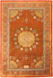 Antique Amritsar Oriental Rug 42157 Nazmiyal