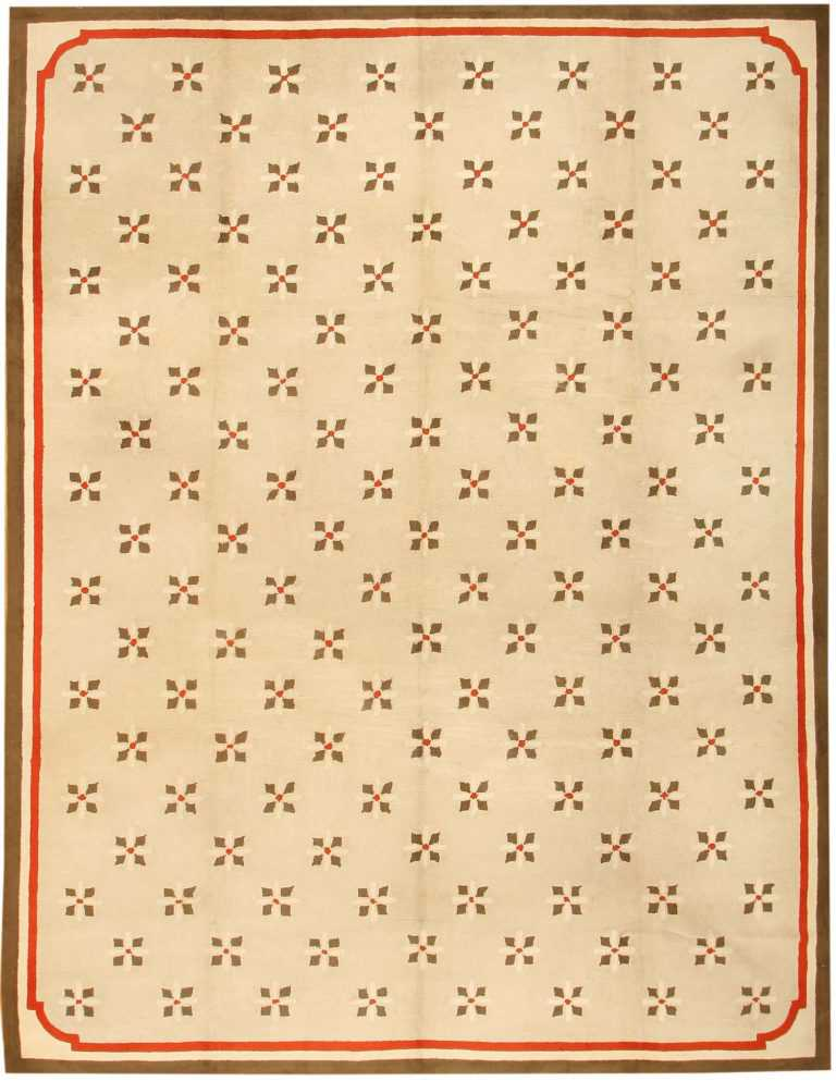 Antique Hooked American Rug 2713 Nazmiyal