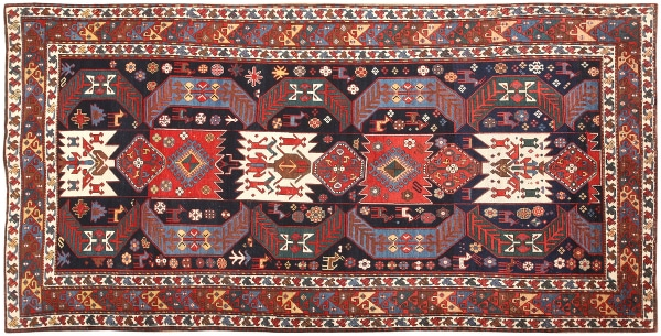 Antique Caucasian Tribal Rugs by Nazmiyal