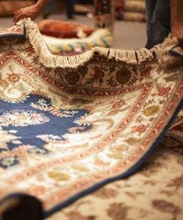 Antique Rug Restoration by Nazmiyal