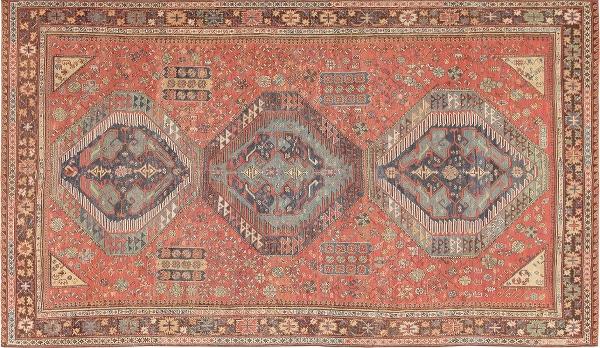 Antique Caucasian Soumaks by Nazmiyal