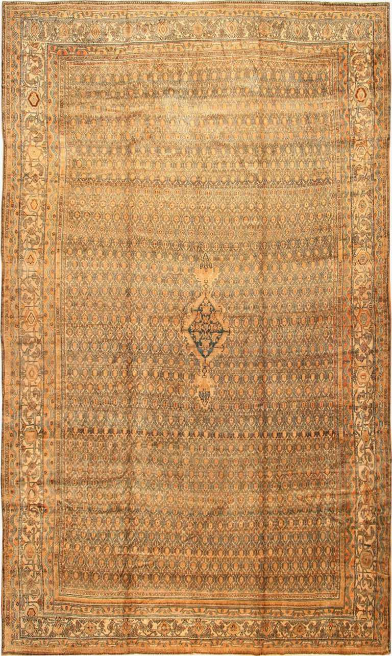 Antique Bibikabad Persian Rug 41294 Nazmiyal