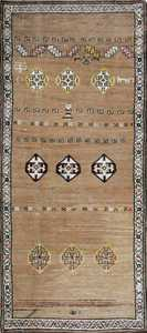 Antique Bakshaish Persian Rug 44150 Nazmiyal