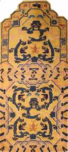 Antique Chinese Oriental Carpet 3219 Nazmiyal