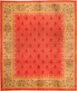 Antique English Rug 1832 Nazmiyal