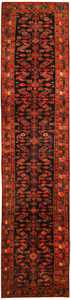 Antique Hamedan Persian Runner Rug 43844