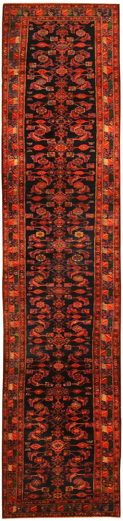 Antique Hamedan Persian Rug 43844