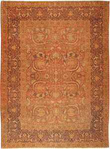 Antique Hereke Turkish Rug 1600 Nazmiyal