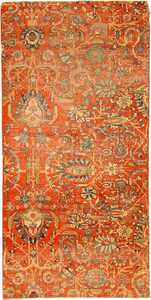 Antique Kashan Persian Rug 2851 Nazmiyal