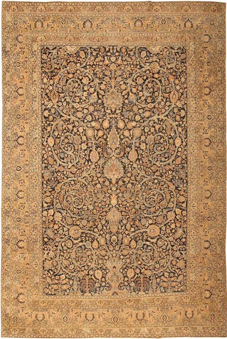 Antique Khorassan Persian Carpet 41814 Nazmiyal