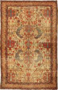 Antique Kerman Persian Rug 2357 Nazmiyal