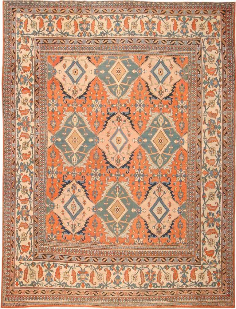 Antique Khorassan Persian Rug 2040 Nazmiyal