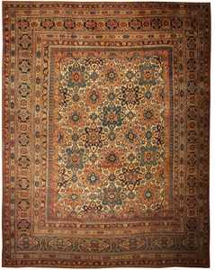 Antique Khorassan Persian Rug Carpet 44046 Nazmiyal