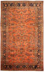 Antique Sultanabad Persian Carpet 40470 Nazmiyal