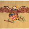 Antique Hooked American Rug 41024 Nazmiyal