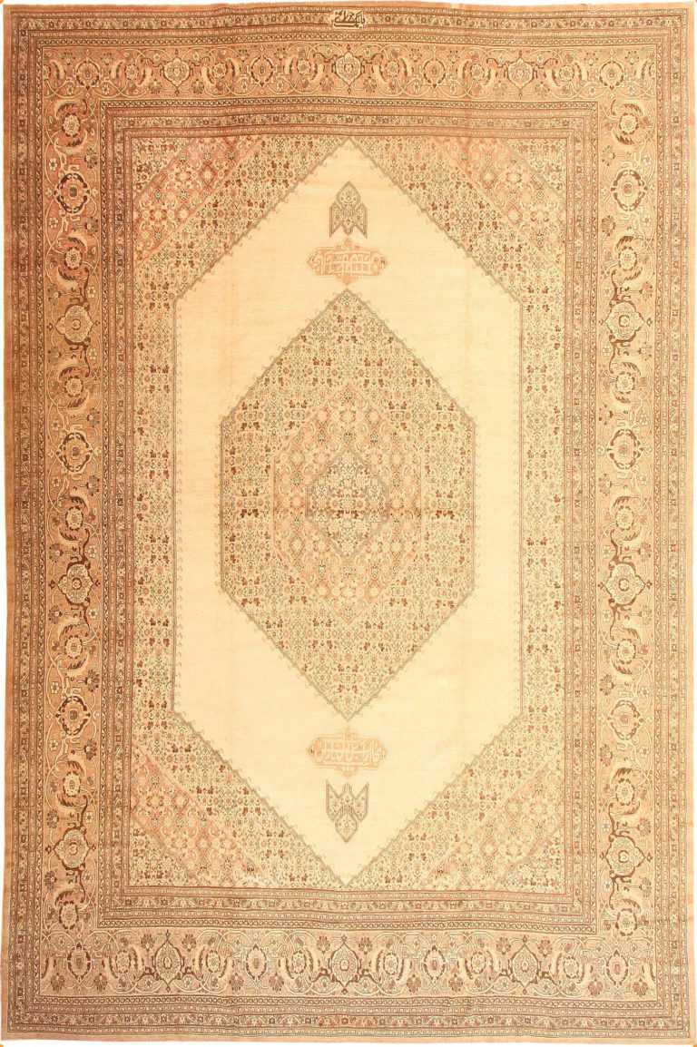 Antique Tabriz Persian Rug 2904 Nazmiyal