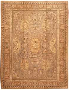 Antique Khotan Oriental Carpet 2298 Nazmiyal