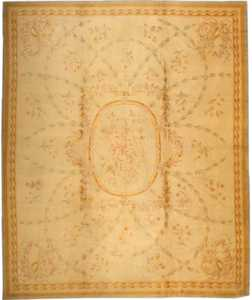 Antique Savonnerie French Rug 3204 Nazmiyal