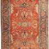 Antique Heriz Serapi Persian Rugs 43696 Nazmiyal