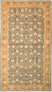 Large Antique Tabriz Persian Rug 43098 by Nazmiyal
