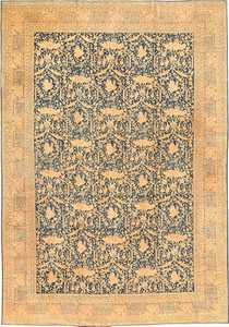 Antique Tabriz Persian Rug 40093 Nazmiyal