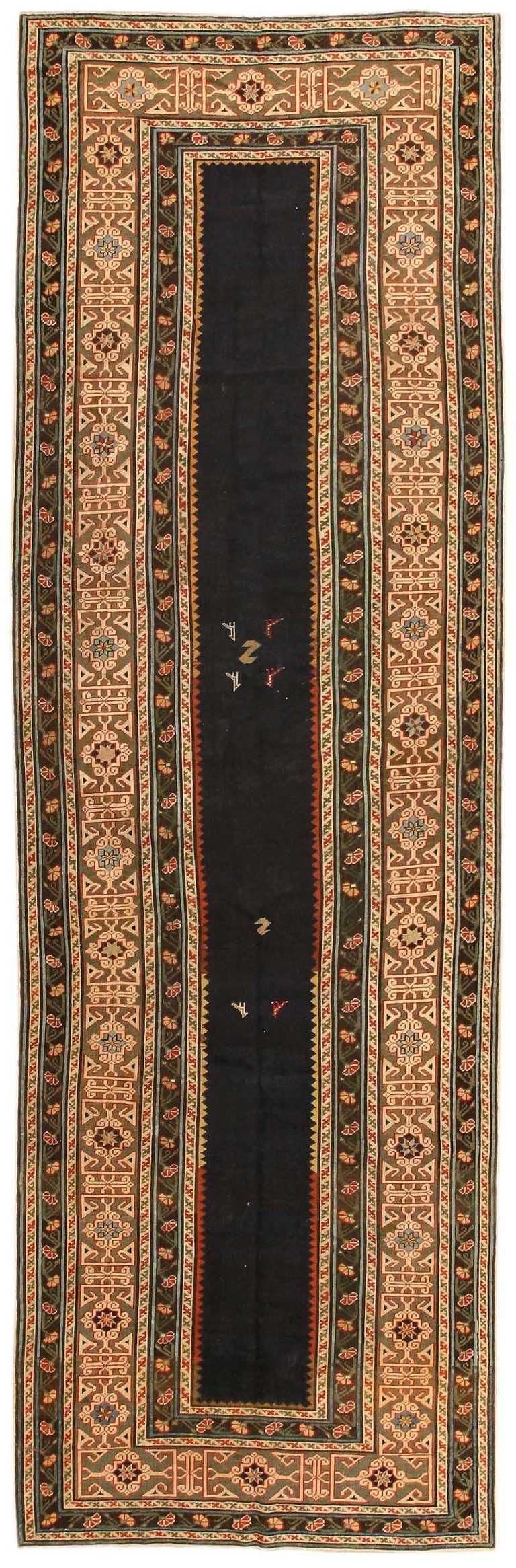 Antique Talish Caucasian Rug 43823 Nazmiyal