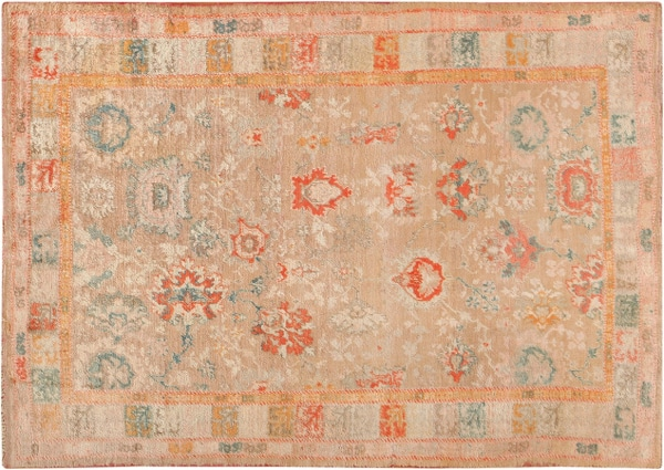 Angora Oushak Carpets by Nazmiyal