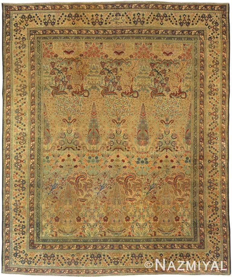 Antique Kerman Persian Rug 3416 Nazmiyal