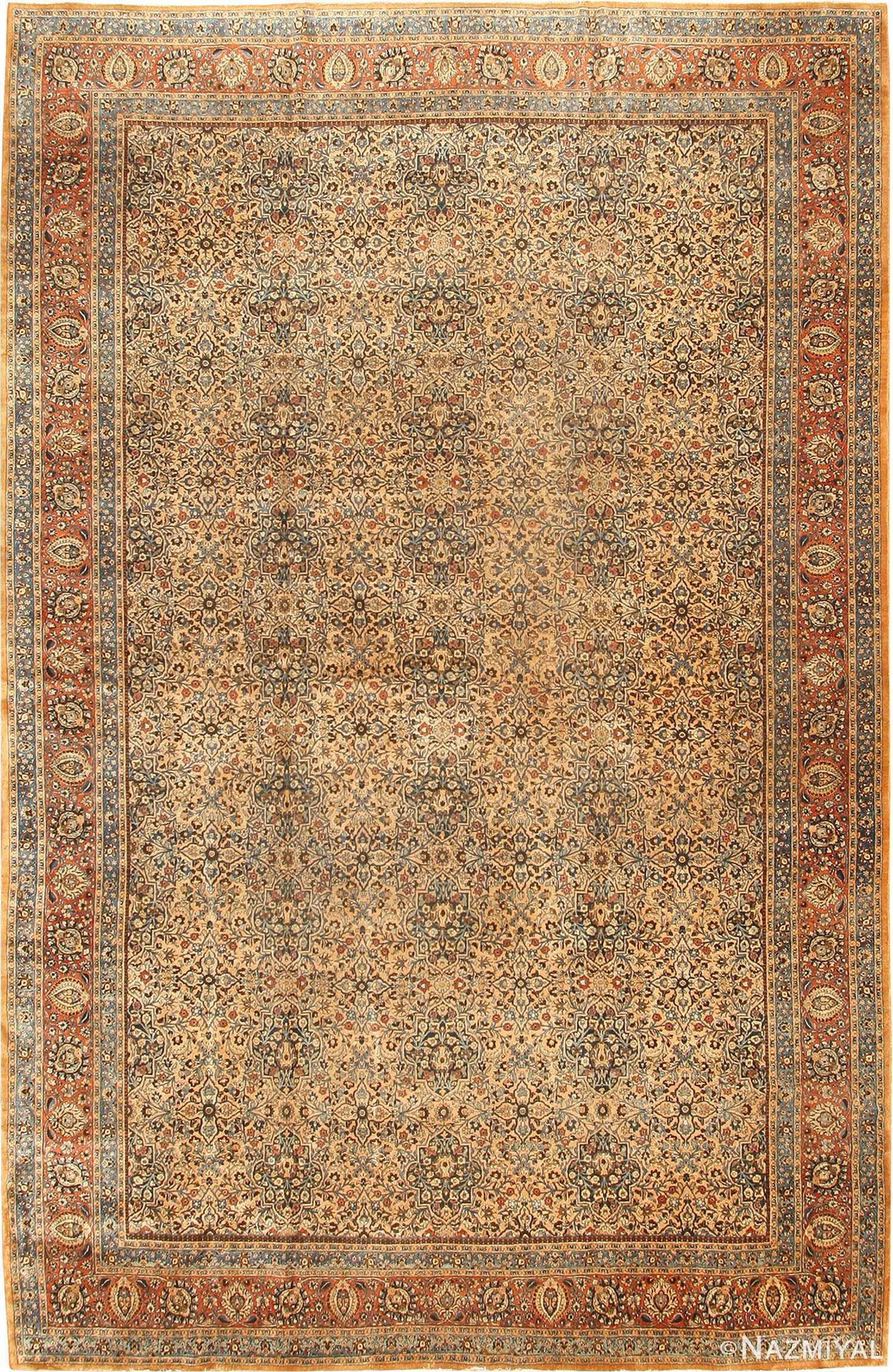 Antique Khorassan Persian Rug 41964 Nazmiyal