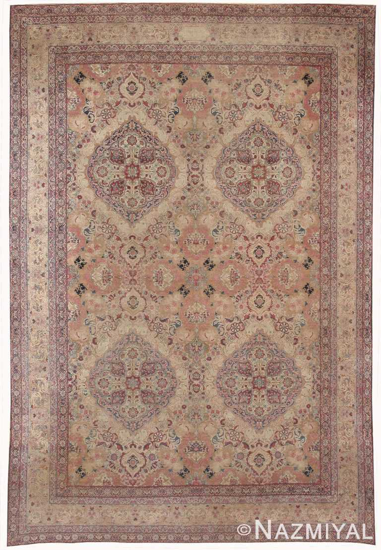 Antique Kerman Persian Rug 42487 Nazmiyal
